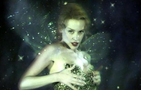 "Kylie Minogue as the absinthe fairy in ""Moulin Rouge"""